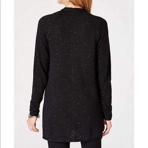 J. Jill Sweaters - J. Jill Cotton Linen Speckled Starlight Cardigan